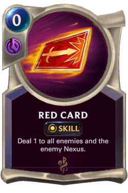 Red Card Legends of Runeterra
