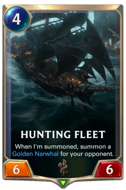Hunting Fleet Legends of Runeterra