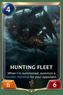 Hunting Fleet Legends of Runeterra