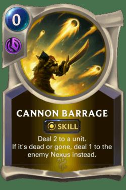 Cannon Barrage Legends of Runeterra