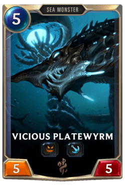 Vicious Platewyrm Legends of Runeterra