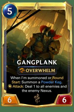 Gangplank 2 Legends of Runeterra