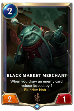 Black Market Merchant Legends of Runeterra