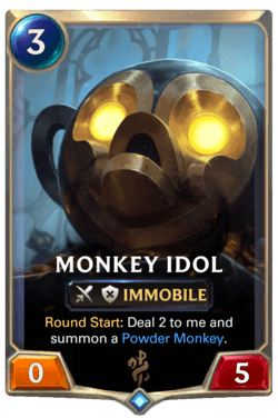 Monkey Idol Legends of Runeterra