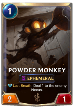 Powder Monkey Legends of Runeterra