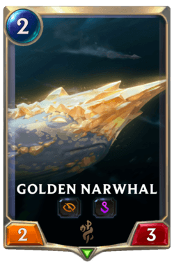 Golden Narwhal Legends of Runeterra