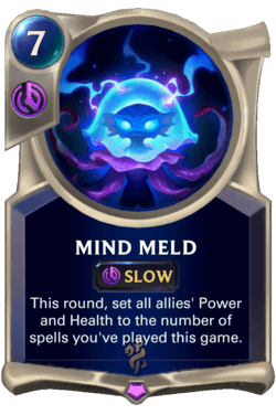 Mind Meld Legends of Runeterra