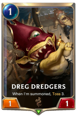 Dreg Dredgers Legends of Runeterra