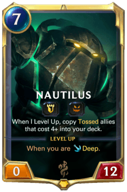 Nautilus Legends of Runeterra