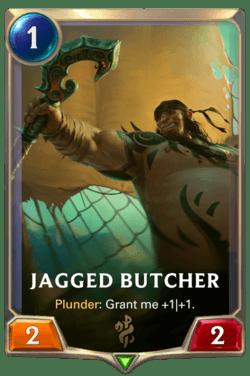 Jagged Butcher Legends of Runeterra