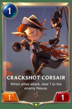 Crackshot Corsair Legends of Runeterra