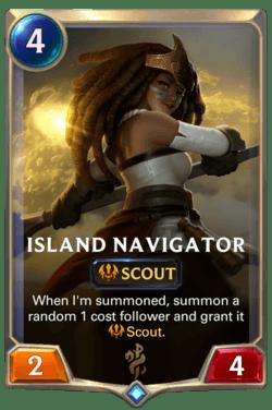 Island Navigator Legends of Runeterra