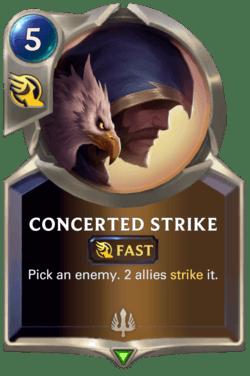 Concerted Strike Legends of Runeterra