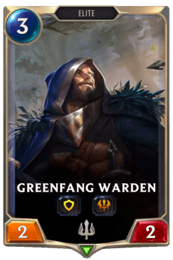 Greenfang Warden Legends of Runeterra