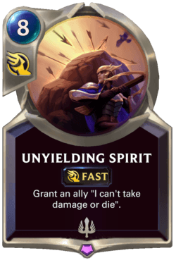 Unyielding Spirit Legends of Runeterra