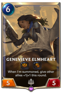 Genevieve Elmheart Legends of Runeterra