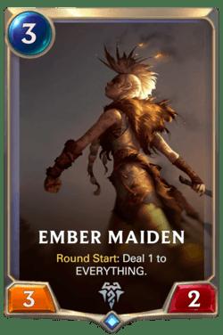 Ember Maiden Legends of Runeterra