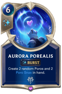 Aurora Porealis Legends of Runeterra