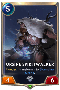 Ursine Spiritwalker Legends of Runeterra