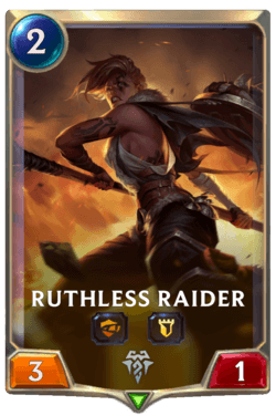 Ruthless Raider Legends of Runeterra