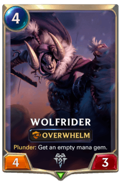 Wolfrider Legends of Runeterra