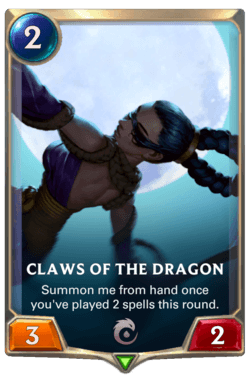 Claws of the Dragon Legends of Runeterra