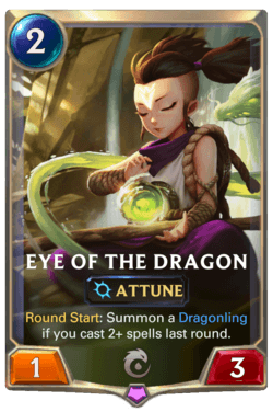Eye of the Dragon Legends of Runeterra