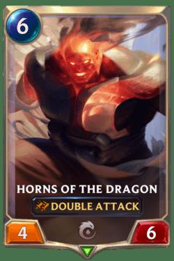 Horns of the Dragon Legends of Runeterra