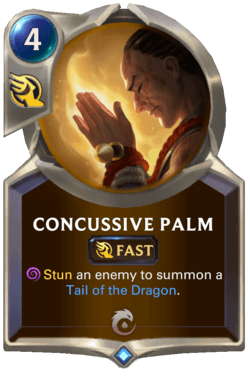Concussive Palm Legends of Runeterra