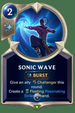 Sonic Wave Legends of Runeterra