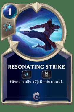 Resonating Strike Legends of Runeterra