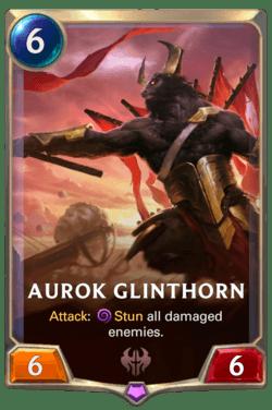 Aurok Glinthorn  Legends of Runeterra