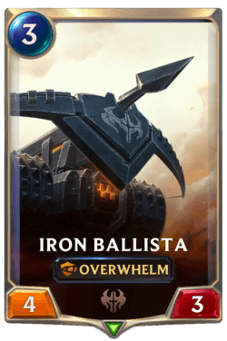 Iron Ballista Legends of Runeterra