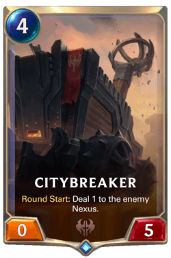 Citybreaker Legends of Runeterra