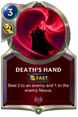Death's Hand Legends of Runeterra