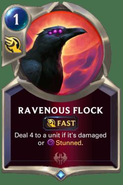 Ravenous Flock Legends of Runeterra