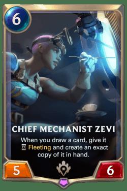 Chief Mechanist Zevi Legends of Runeterra