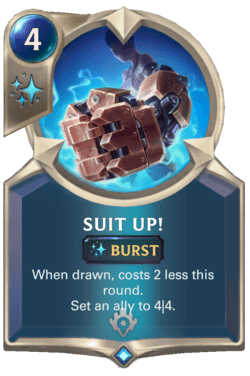Suit Up! Legends of Runeterra