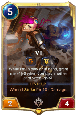 Vi Legends of Runeterra