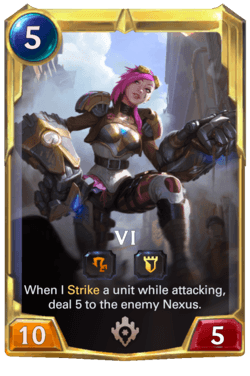 Vi 2 Legends of Runeterra