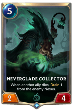 Neverglade Collector Legends of Runeterra