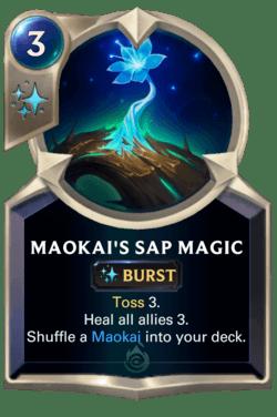 Maokai's Sap Magic Legends of Runeterra