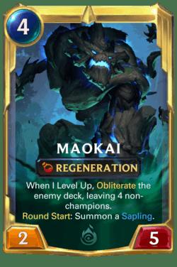 Maokai 2 Legends of Runeterra