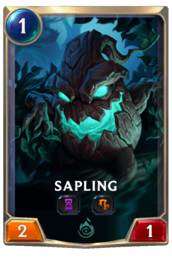 Sapling Legends of Runeterra