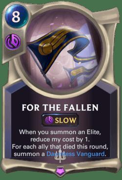 For The Fallen Legends of Runeterra