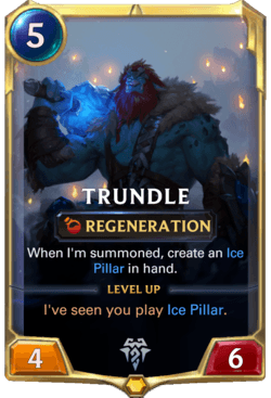 Trundle Legends of Runeterra