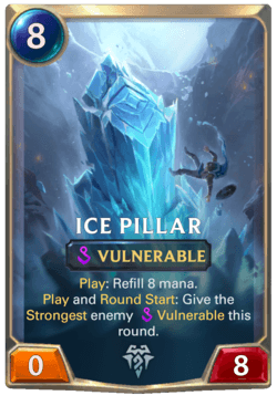 Ice Pillar Legends of Runeterra