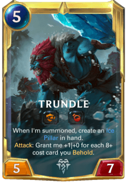 Trundle 2 Legends of Runeterra