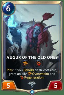 Augur of the Old Ones Legends of Runeterra