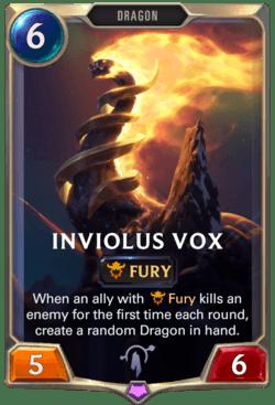 Inviolus Vox Legends of Runeterra